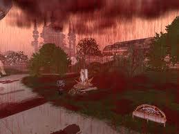 fenomena hujan darah | hujan darah tanda kiamat